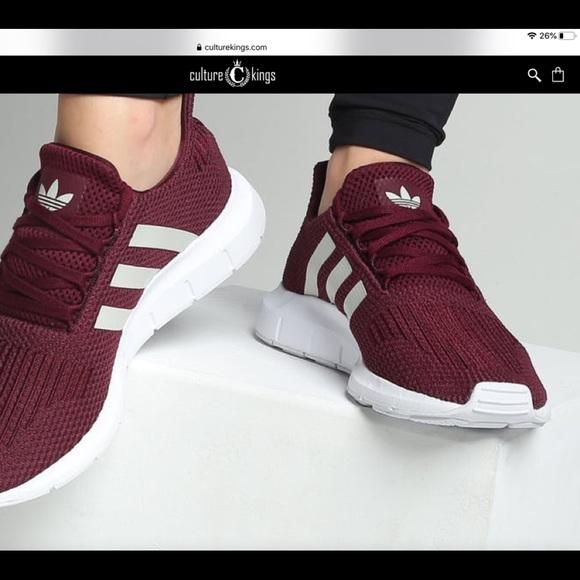 adidas Shoes | Adidas Swift Run Maroon